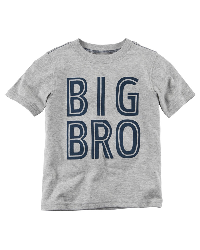 BIG BROTHER on Infant /& Toddler Cotton T-Shirt in 7 Colors