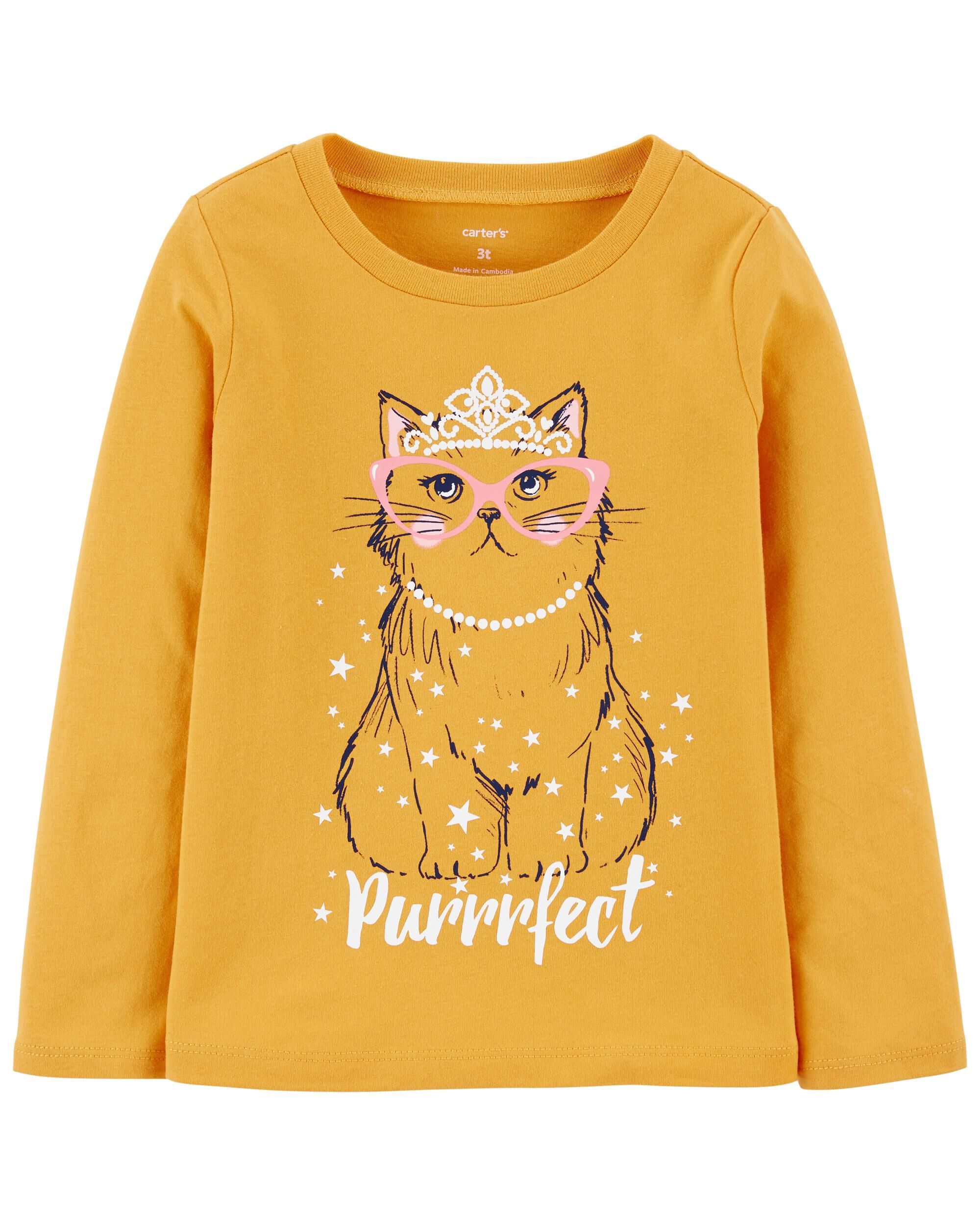 *CLEARANCE* Cat Jersey Tee