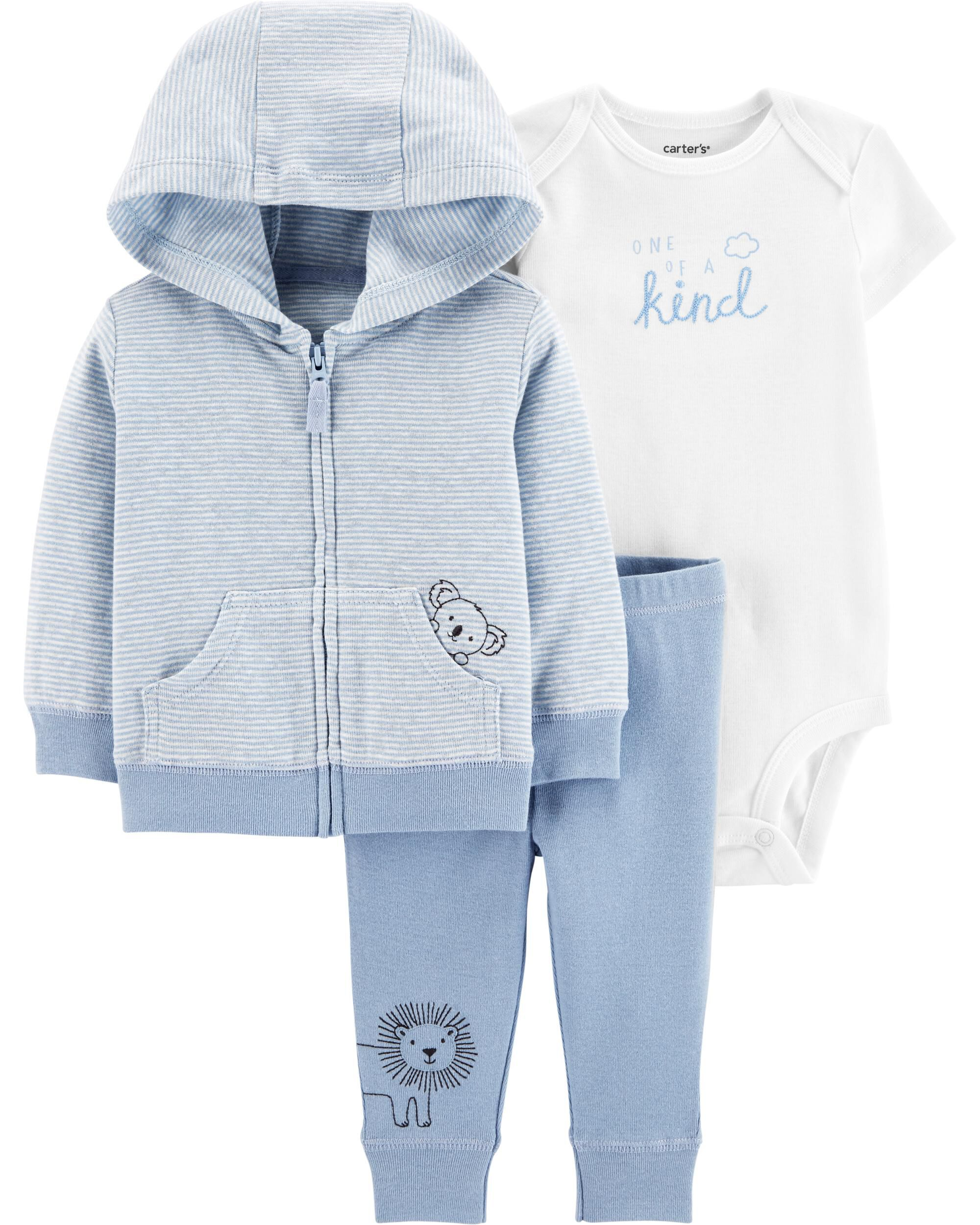3-Piece Koala Little Jacket Set