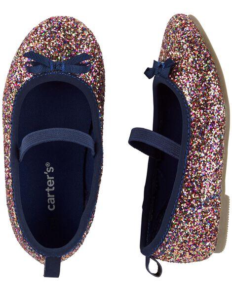 Carter's Glitter Ballet Flats