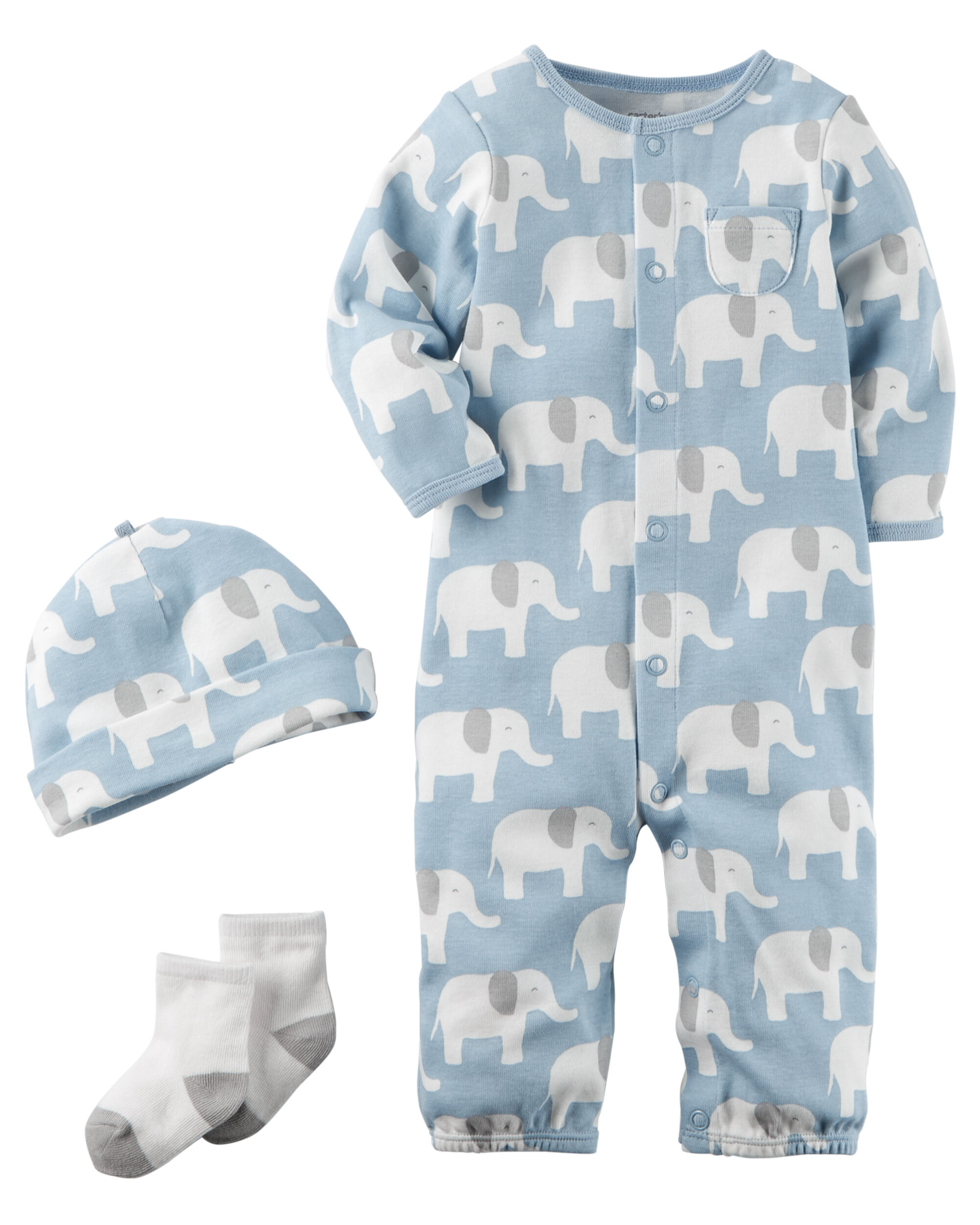 8e01008de 3-Piece Babysoft Take-Me-Home Set