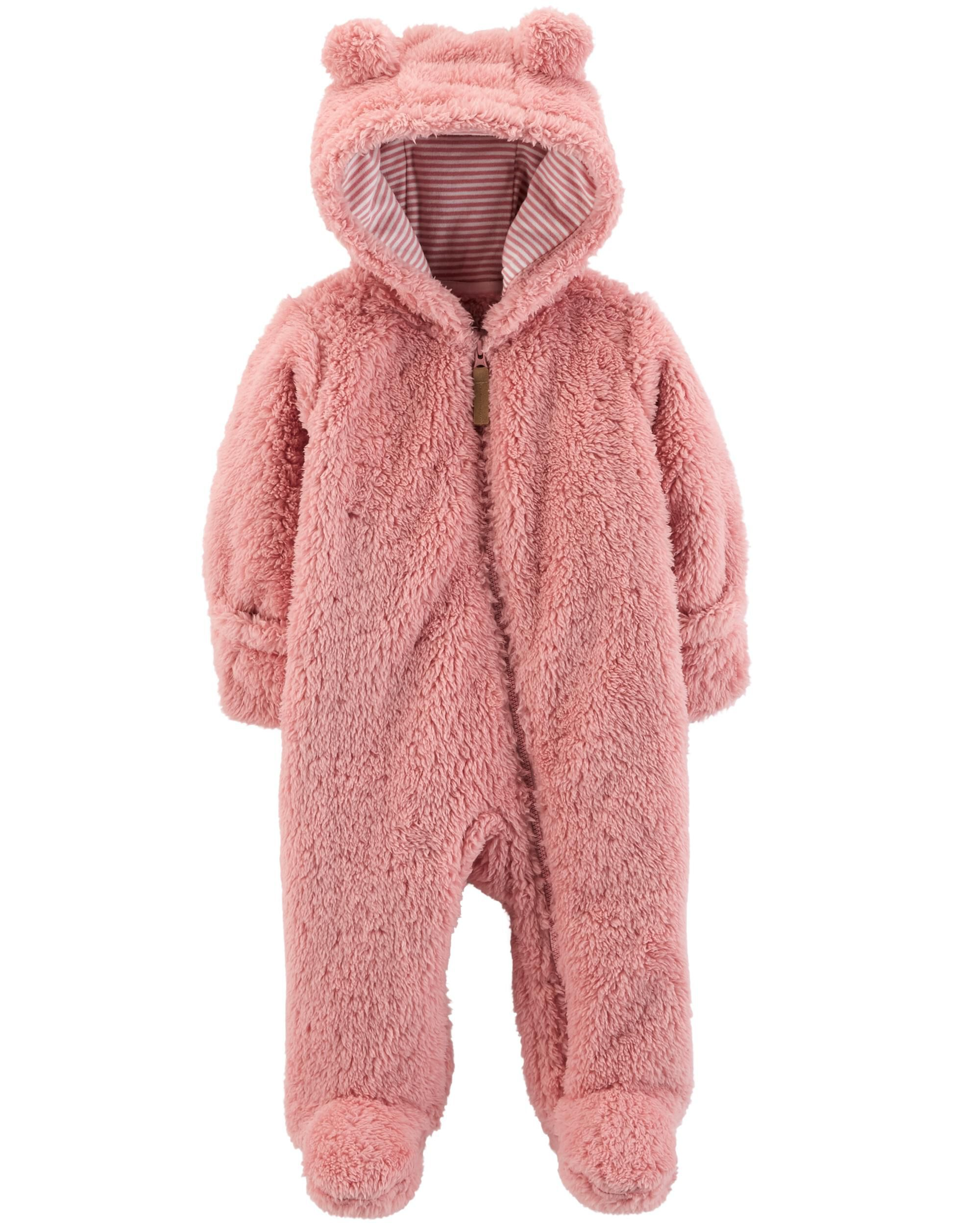 Clothing, Shoes & Accessories Carters Baby Girl Snowsuit Pram Pink Size 18m
