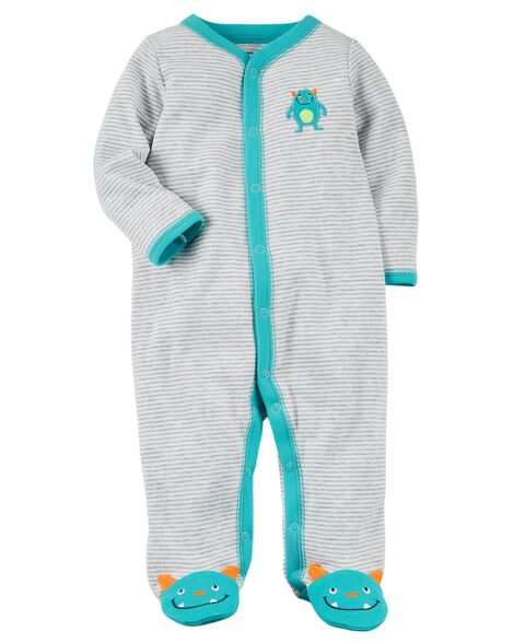 339b2d742 Snap-Up Monster Cotton Sleep   Play