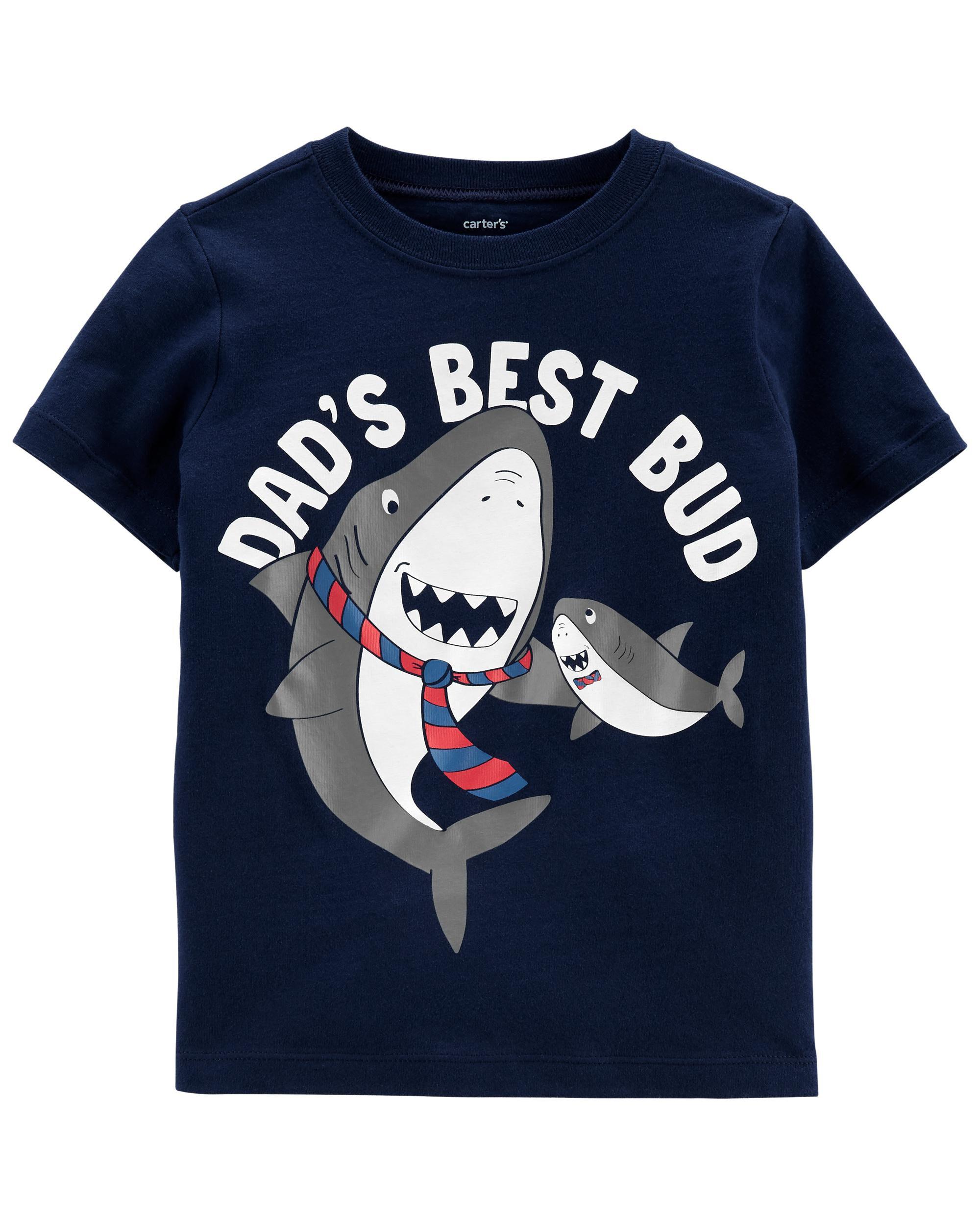 *DOORBUSTER* Shark Dad Jersey Tee