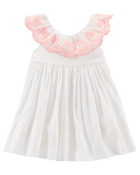 147f8a5ca Baby Girl Eyelet Lace Dress