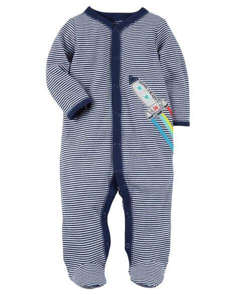 4c0b002f1221 Snap-Up Rocket Cotton Sleep   Play