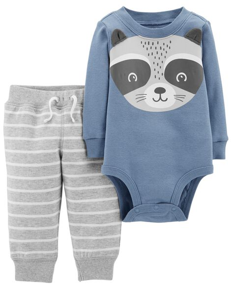 27fd3d73d 2-Piece Bodysuit Pant Set