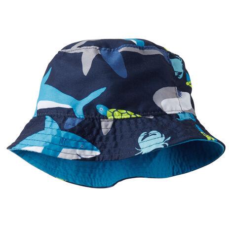 Reversible Shark Print Bucket Hat ... 79df3d72c49