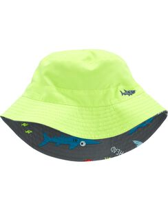9e8e8ddc8ef Reversible Shark Bucket Hat