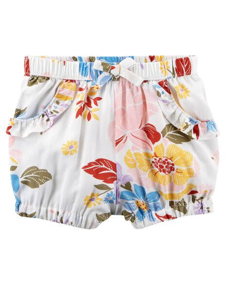 8527932bc1f6 Floral Pull-On Bubble Shorts