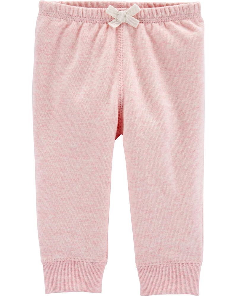 Carters Little Girls French Terry Pants