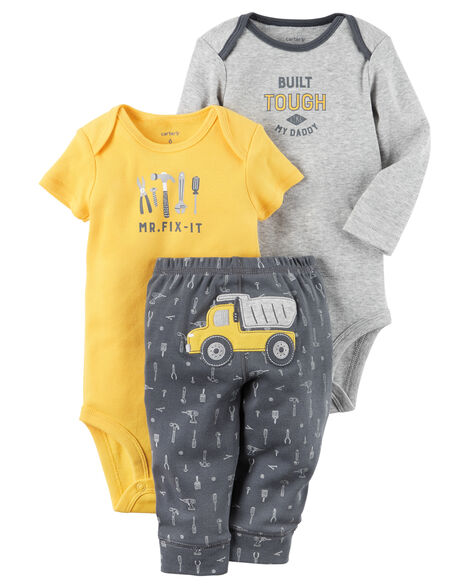 6970ad46c 3-Piece Little Character Set | Carters.com