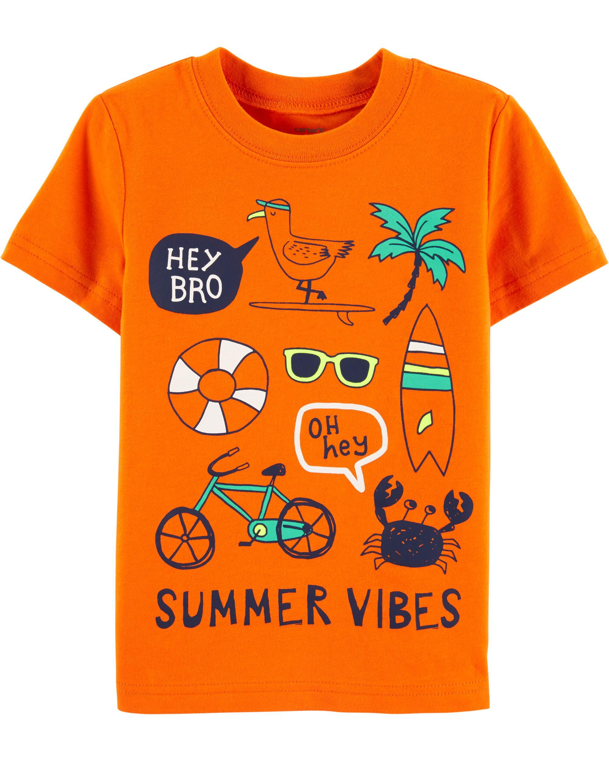 *CLEARANCE* Summer Vibes Jersey Tee
