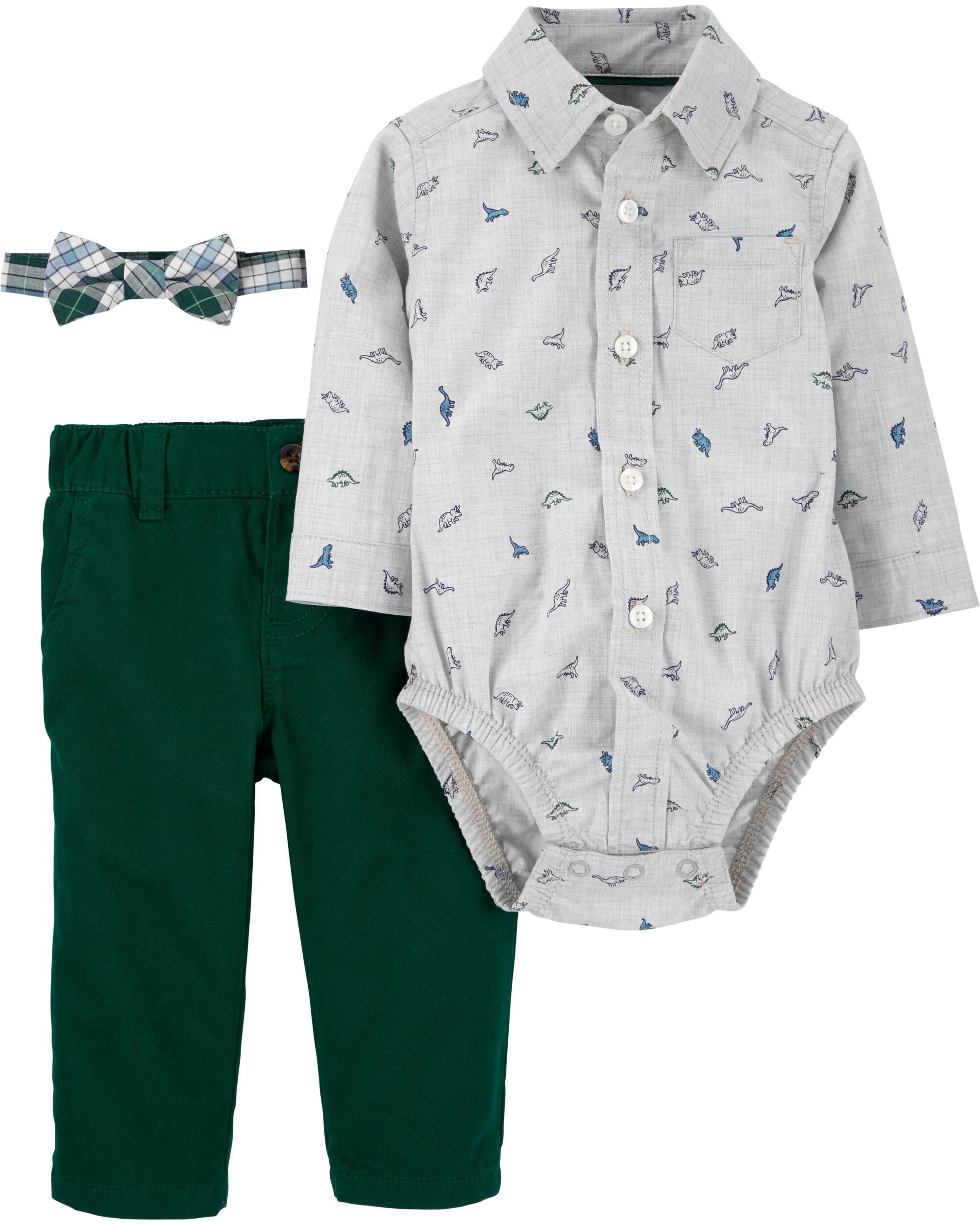 *CLEARANCE* 3-Piece Dinosaur Dress Me Up Set