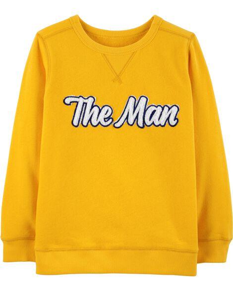 The Man Fleece Sweatshirt