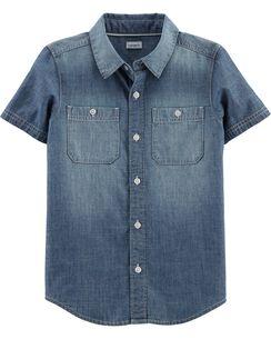 b24defba8 Kid Boy Button Front Shirts