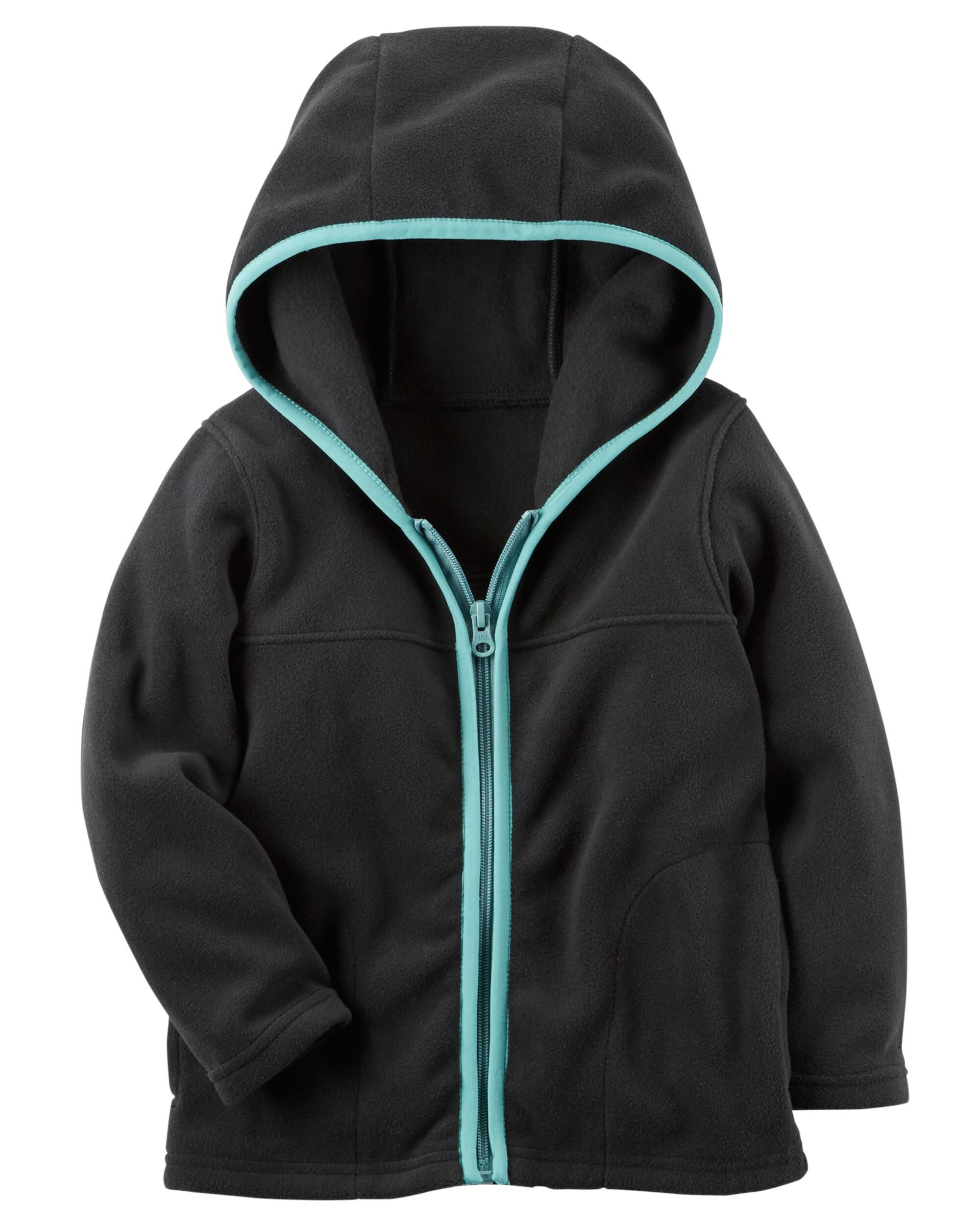 Full-Zip Hooded Fleece Jacket | Carters.com