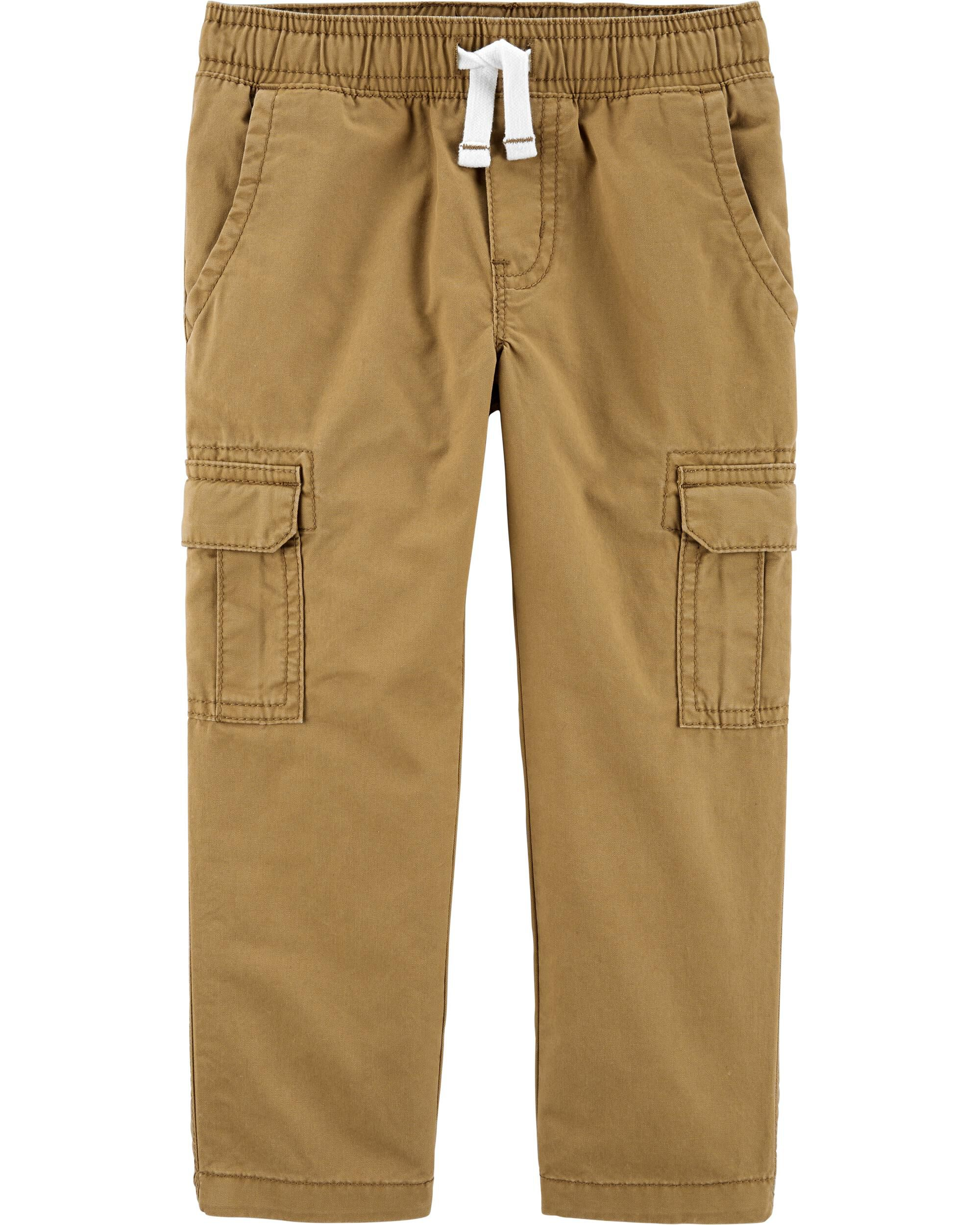 Easy Pull-On Cargo Pants