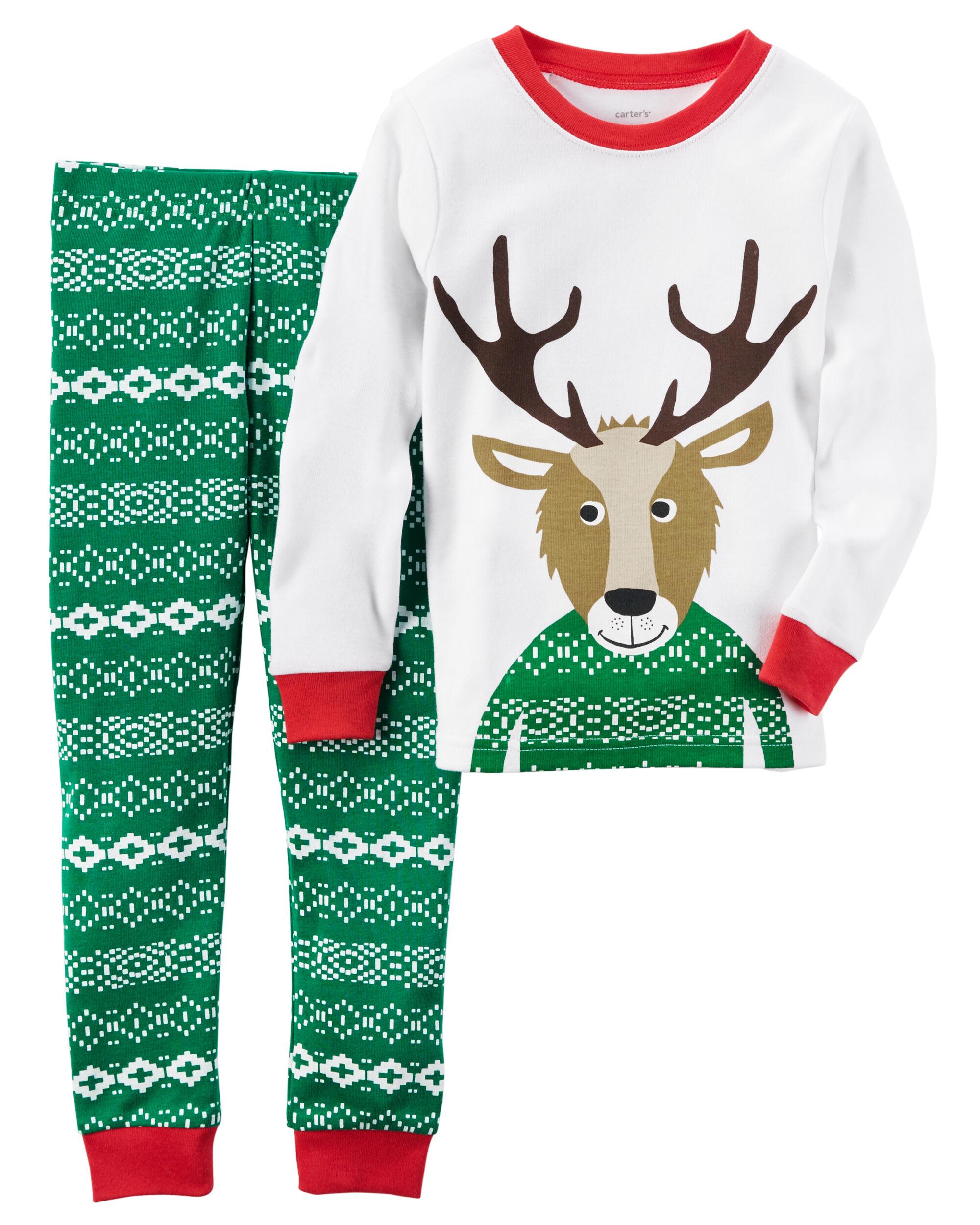 2-Piece Snug Fit Cotton Christmas PJs   Carters.com