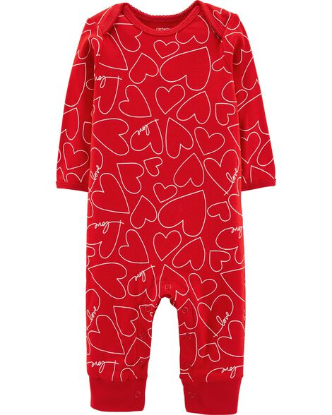 Valentine's Day Heart Jumpsuit