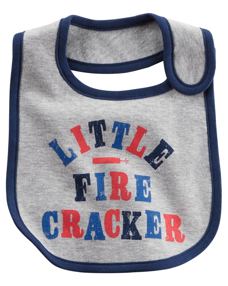 Baby Bibs Little Firecracker