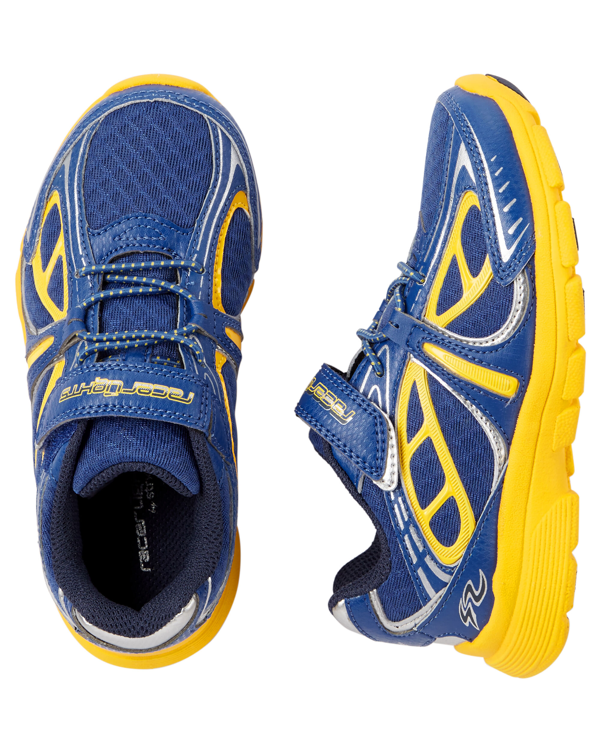 Stride Rite Racer Lights Bolt Sneaker