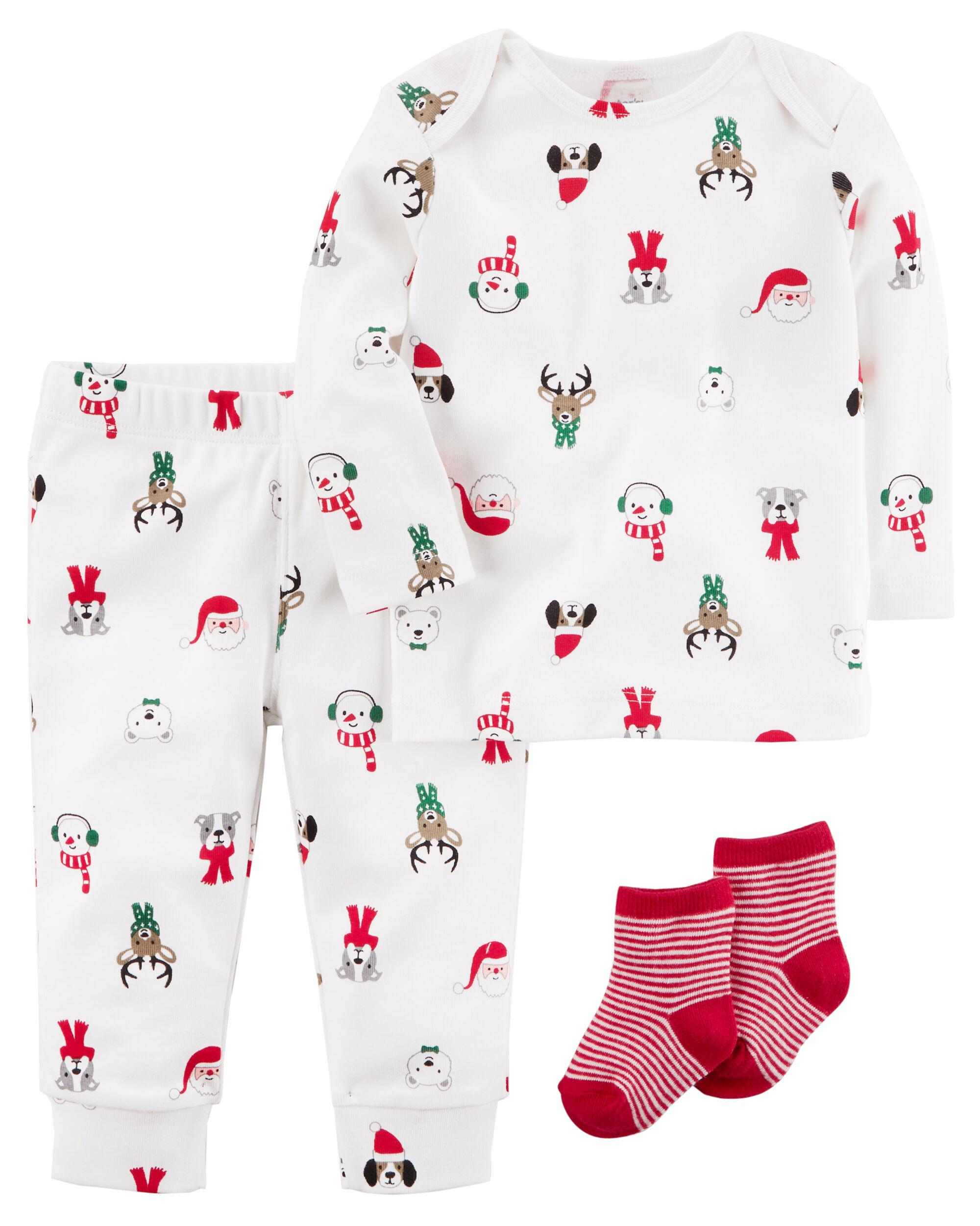 3-Piece Christmas PJ Set | Carters.com