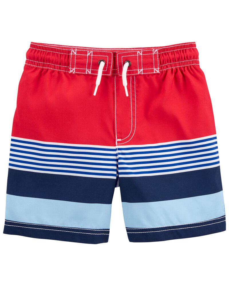 Carter/'s Toddler Boys Blue Elastic Waist Shorts Functional Drawstring Size 5T