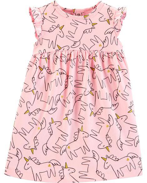 Unicorn Jersey Dress