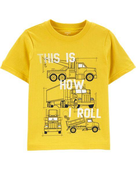 Construction Truck Jersey Tee