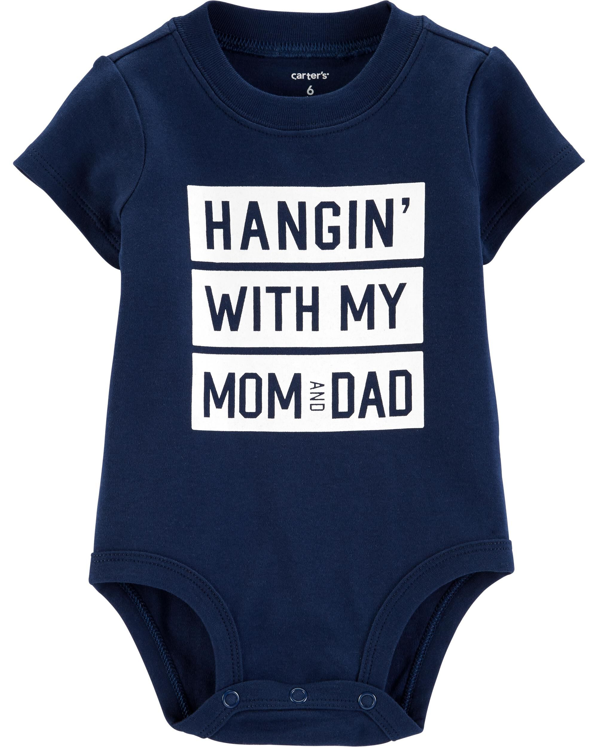 348ba2e77 Mom & Dad Collectible Bodysuit. Loading zoom