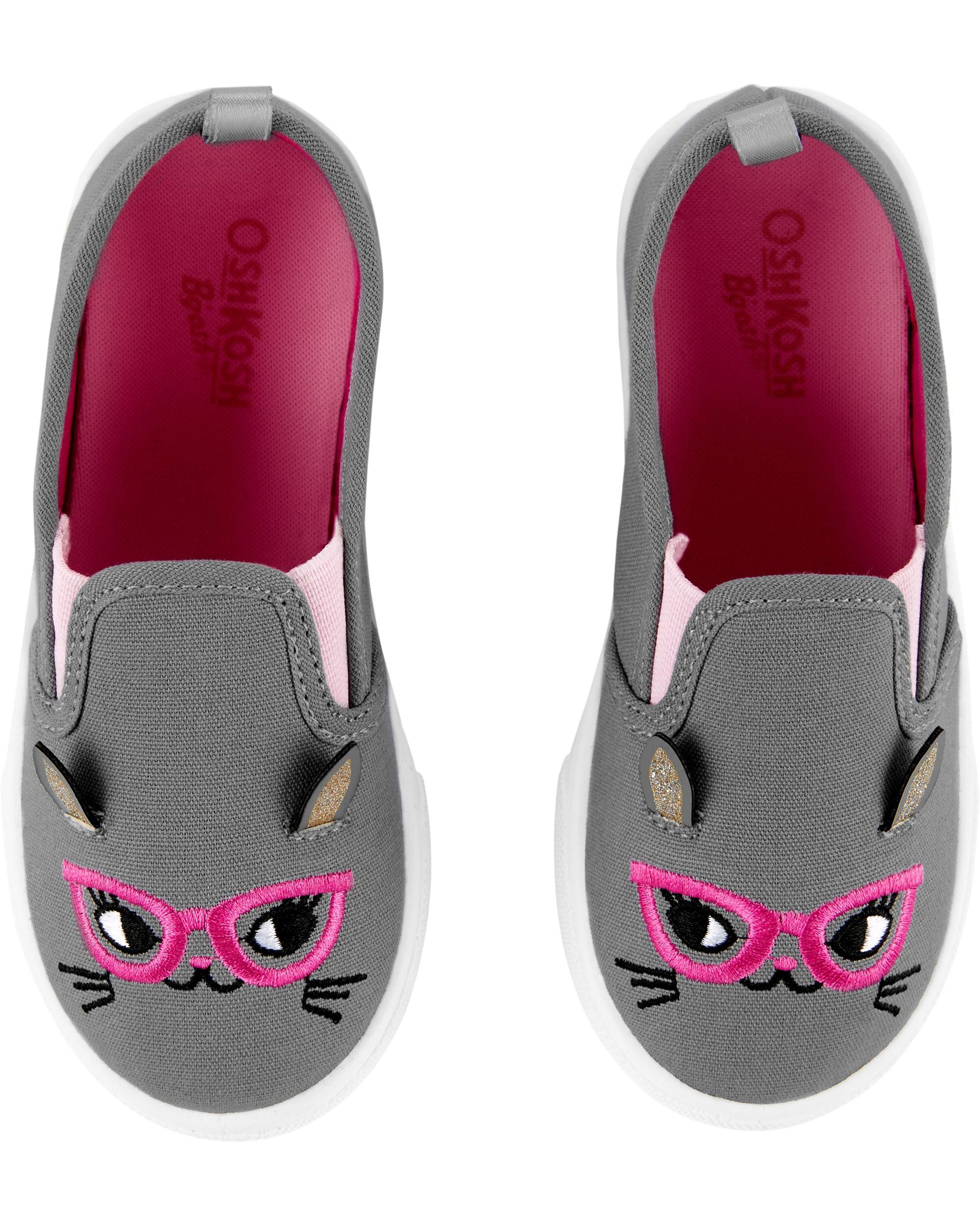 OshKosh Cat Slip-On Shoes   carters.com