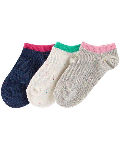 3-Pack Ankle Socks