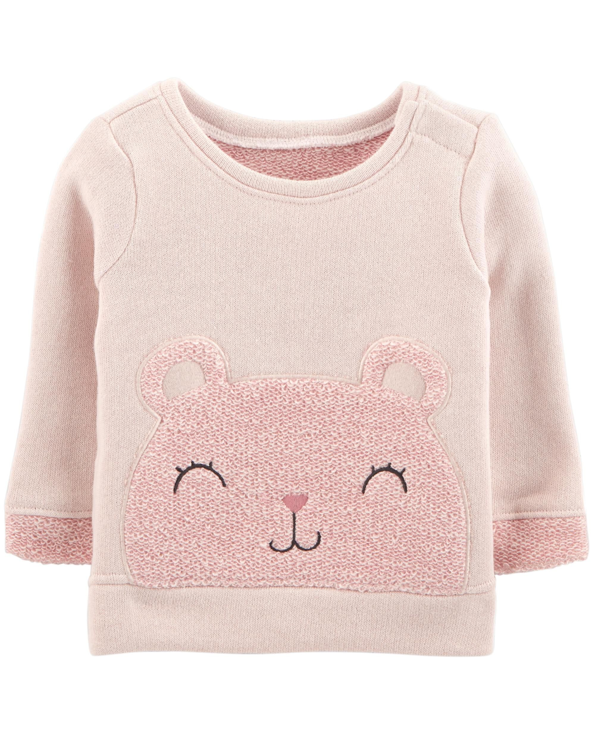 d5ba740f8220 Bear French Terry Sweater