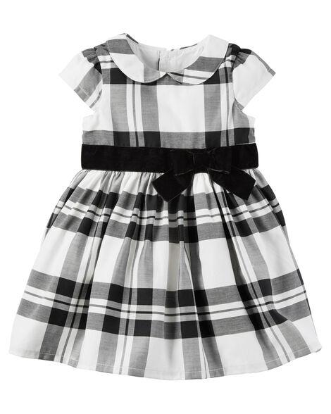 0e3cf43fa312b Plaid Dress | Carters.com