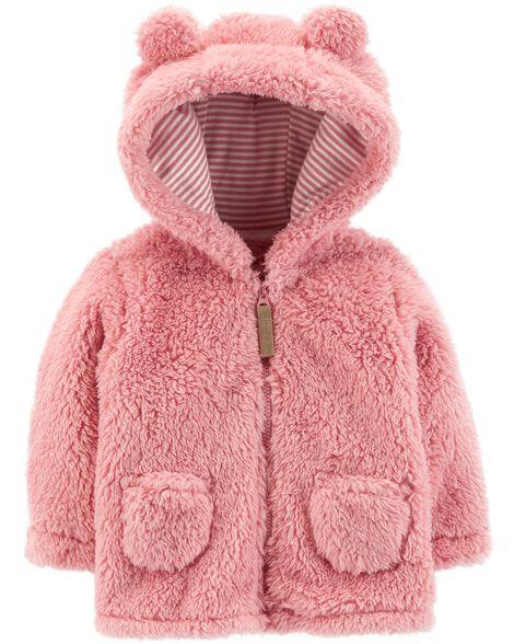 eb726dc07154 Zip-Up Sherpa Jacket