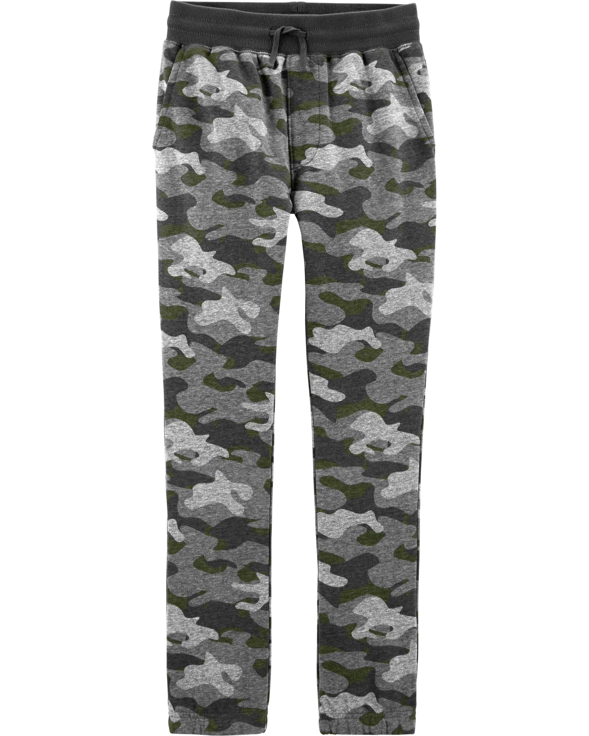 *CLEARANCE* French Terry Camo Joggers