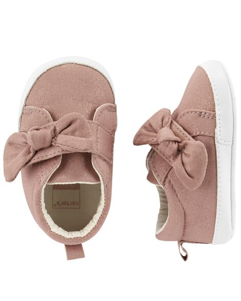 Carter S Bow Sneaker Baby Shoes Carters Com