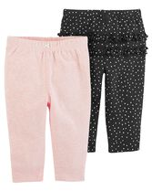 2-Pack Pull-On Pants, Color, hi-res