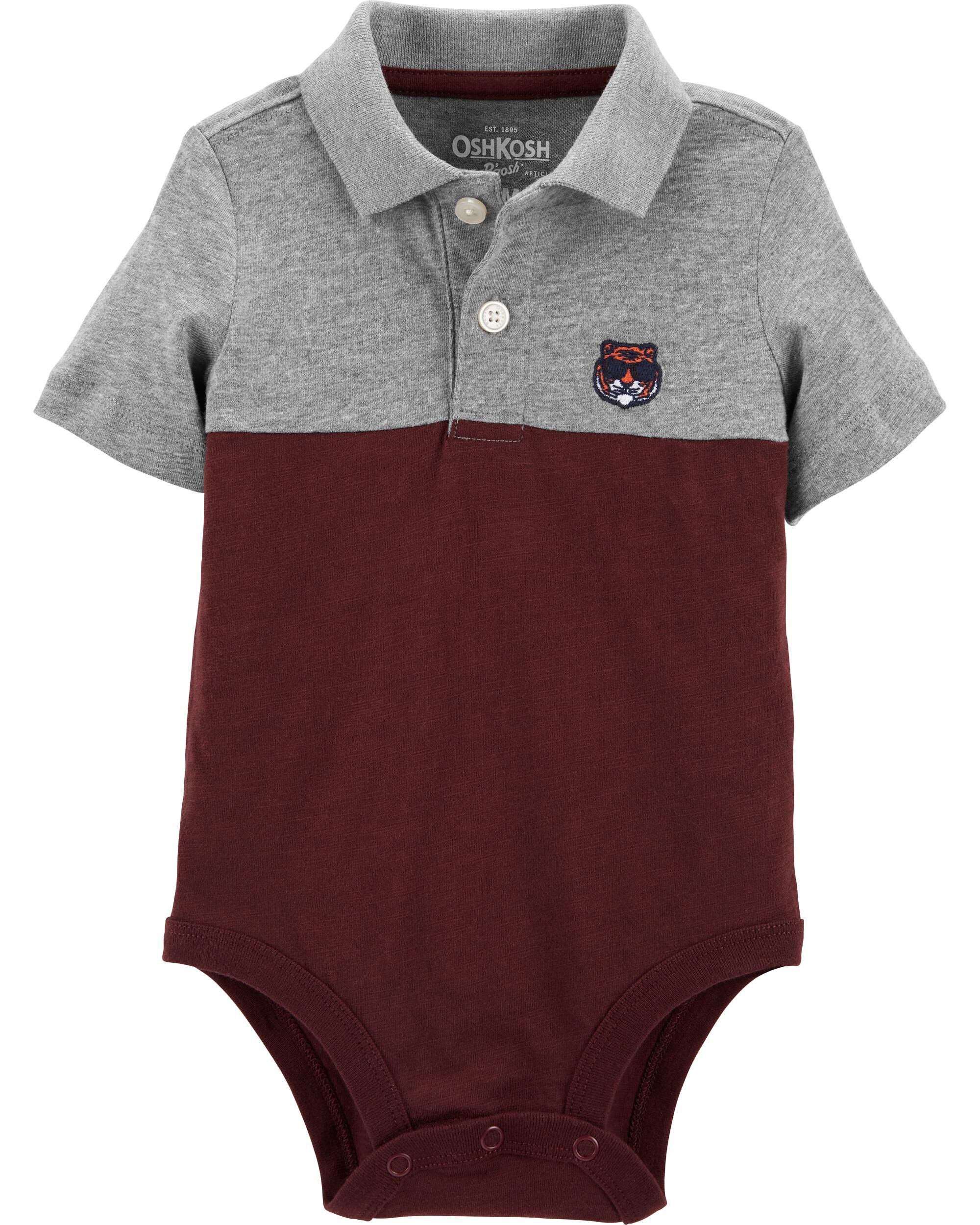 *CLEARANCE* Tiger Polo Bodysuit