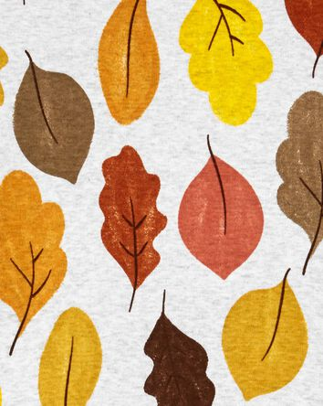 2-Piece Fall Leaves 100% Snug Fit C...