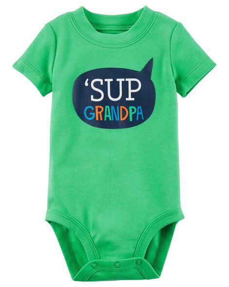 8fbe3f45d Sup Grandpa Collectible Bodysuit | Carters.com