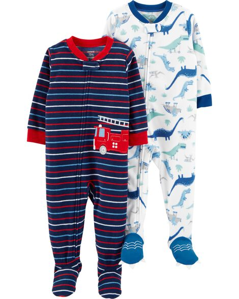 92e20ca1d619 2-Pack Fleece PJs