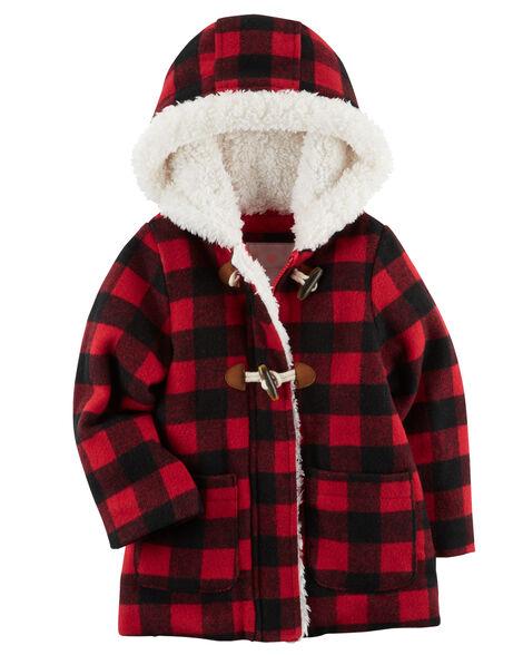 ede152459884 Buffalo Check Coat