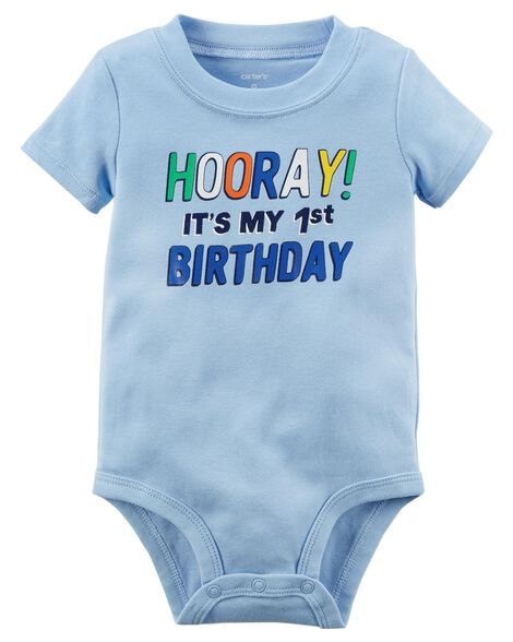 Images 1st Birthday Collectible Bodysuit