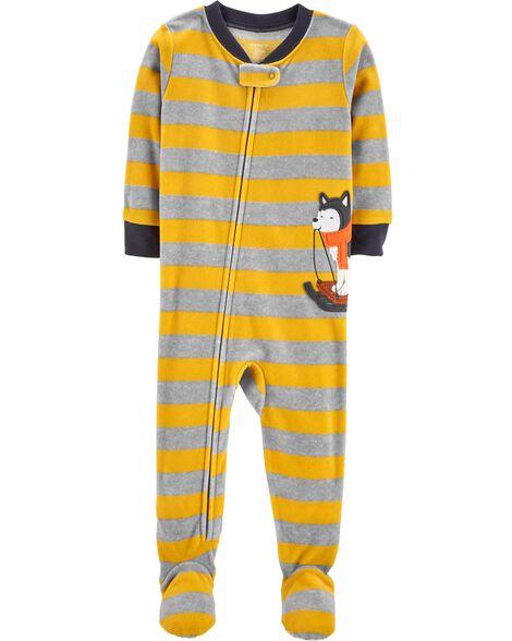 a782147de3df 1-Piece Husky Fleece PJs
