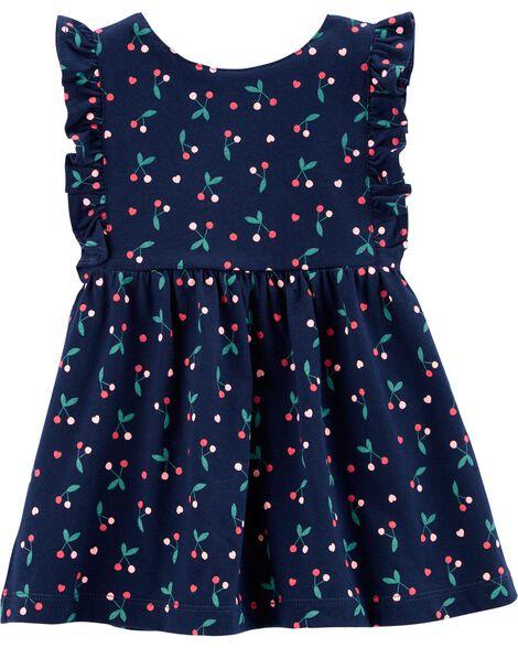 e502784ea Cherry Jersey Dress | Carters.com