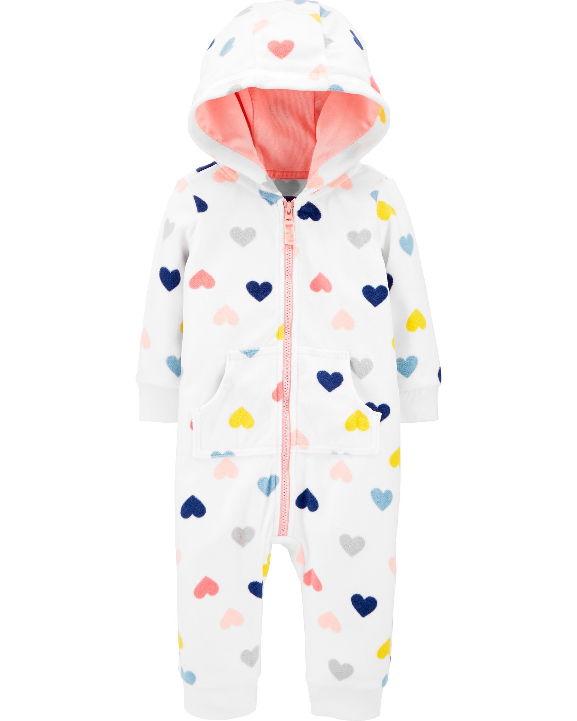 *DOORBUSTER* Heart Fleece Jumpsuit