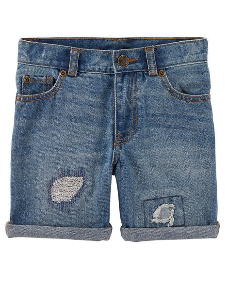 5-Pocket Denim Shorts