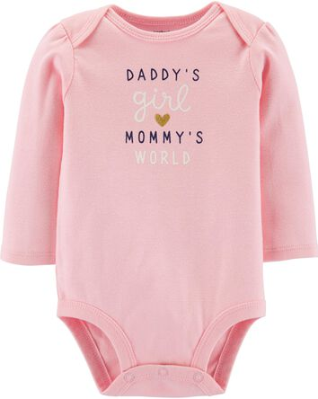 a8383958158bd Baby Girl Bodysuits | Carter's | Free Shipping